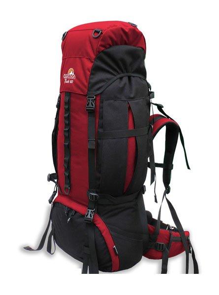 Corazon batoh ROCK 80, červená, 80l