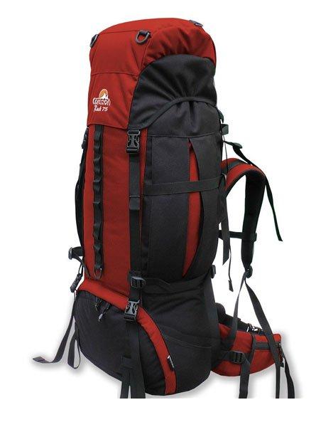 Corazon batoh ROCK 75, červená, 75l