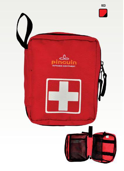 Pinguin lékárnička First Aid Kit M red